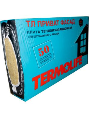 Базальтовая вата Termolife ТЛ Приват Фасад 50 мм