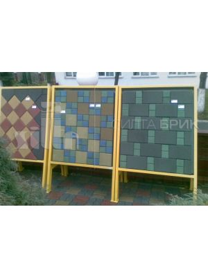 Тротуарная плитка Силта Брик 1К.5 (200x200)