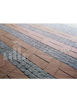 Тротуарная плитка Силта Брик 1К.5 (100x100)