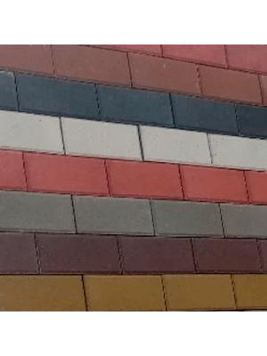 Плитка тротуарная 40 мм оливковая Мегабрук Кирпичик