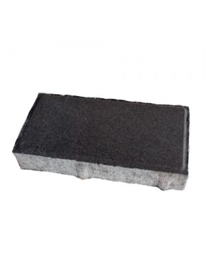 Плитка тротуарная 40 мм графит Мегабрук Кирпичик