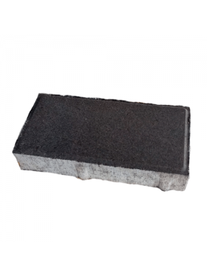 Плитка тротуарная 60 мм графит Мегабрук Кирпичик