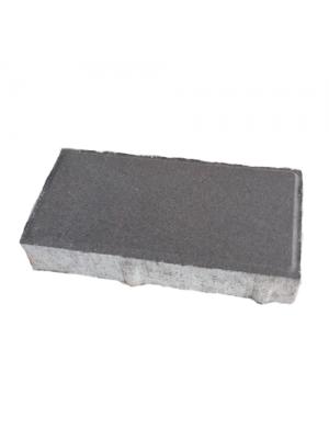 Плитка тротуарная 40 мм серая Мегабрук Кирпичик