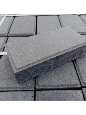 Плитка тротуарная 60 мм серая Мегабрук Кирпичик