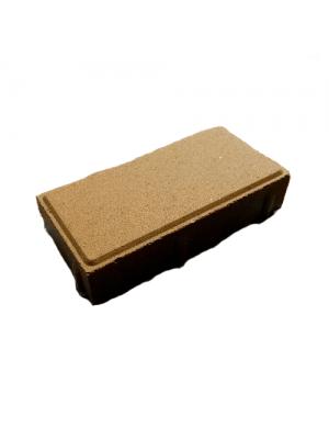 Плитка тротуарная 60 мм оливковая Мегабрук Кирпичик