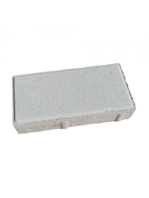 Плитка тротуарная 40 мм белая Мегабрук Кирпичик
