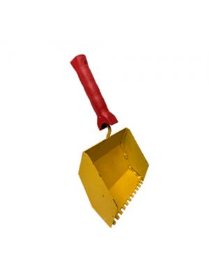 Ковш для кладки газоблоку 150 мм ТРВ жовтий