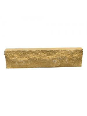Фасадная плитка ТРВ Скала желтая