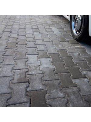 Плитка тротуарна Юнігран,  Двутавр 10 см Класик  Сіра