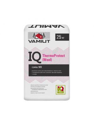 IQ ThermoProtect (Wool) Смесь для приклеивания и армирования МВ утеплителя Vamiut