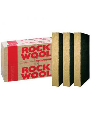 Утеплитель Rockwool WENTI MAX F (со стеклохолстом) 9.6 м2