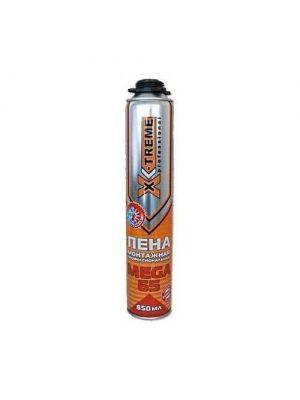 Пена Монтажная Профессиональная X-TREME МЕГА 65 (850 МЛ)