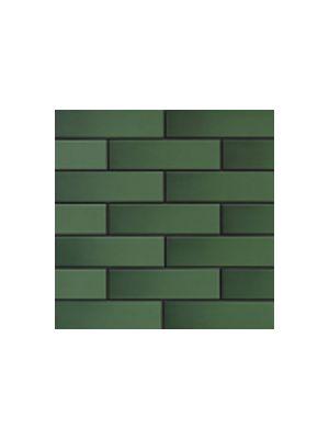 Глазурованная фасадная плитка зеленая с оттенком
