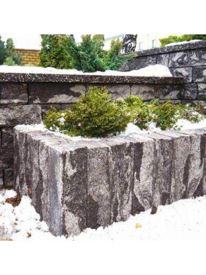 Камінь декоративний 500х175х150 Золотий Мандарин (стовпчик для клумби, паркану)