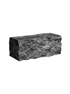 Колотий камінь Золотий Мандарин (чорний з мармуром)