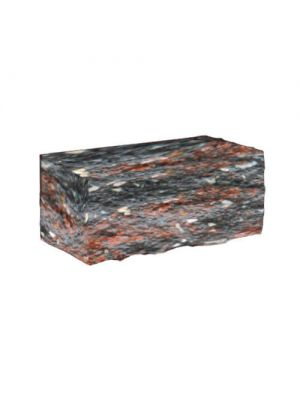 Колотий камінь Золотий Мандарин (болонья з мармуром)