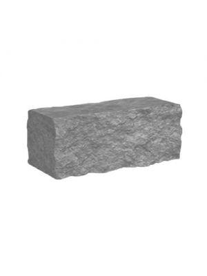 Колотий камінь для паркану 350x180x150мм Золотий Мандарин