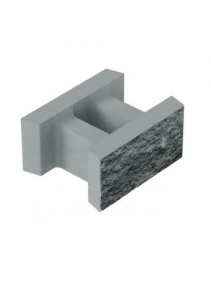 Блок декоративный несъемной опалубки 500х400х235 Золотой Мандарин