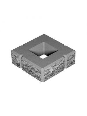 Декоративний блок для стовпів 300х300х100 мм Золотий Мандарин