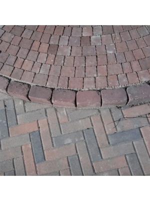 Тротуарна плитка-цегла (210x70x60) Золотий Мандарин