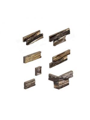 Облицовочный камень Шале дакота угловой элемент Золотой Мандарин (декоративный камень)