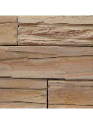Облицовочный камень Шале мокко Золотой Мандарин (декоративный камень)