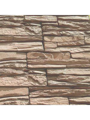 Облицовочный камень Шале мокко угловой элемент Золотой Мандарин (декоративный камень)
