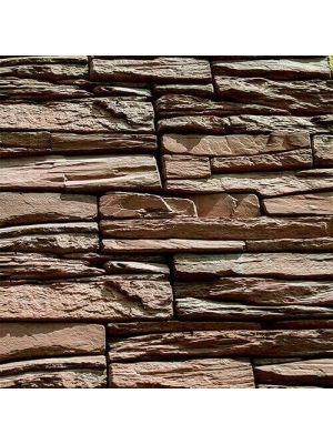 Облицовочный камень Шале нуаро угловой элемент Золотой Мандарин (декоративный камень)
