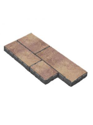 Тротуарная плитка Паттерн 60мм Золотой Мандарин