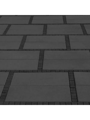 Тротуарна плитка Неоліт 60мм чорна Золотий Мандарин