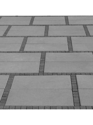 Тротуарна плитка Неоліт 60мм сіра Золотий Мандарин