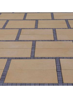 Тротуарна плитка Неоліт 60мм персикова Золотий Мандарин