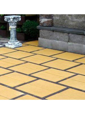 Тротуарна плитка Неоліт 60мм жовта Золотий Мандарин