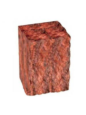 Столбик декоративный бордовый 200х175х150 Золотой Мандарин