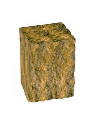 Стовпчик декоративний гірчичний 200х175х150 Золотий Мандарин