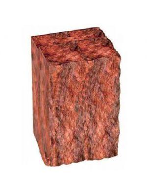 Столбик декоративный бордовый 250х175х150 Золотой Мандарин
