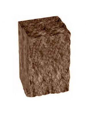 Столбик декоративный коричневый 250х175х150 Золотой Мандарин