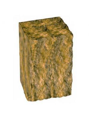 Столбик декоративный горчичный 250х175х150 Золотой Мандарин