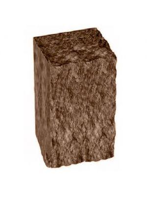 Столбик декоративный коричневый 300х175х150 Золотой Мандарин