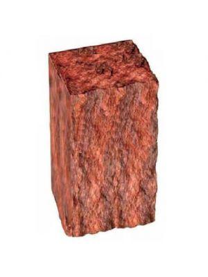 Стовпчик декоративний червоний 350х175х150 Золотий Мандарин