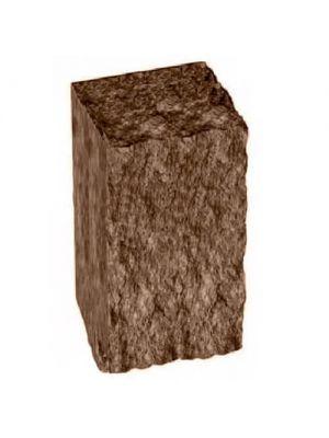 Столбик декоративный коричневый 350х175х150 Золотой Мандарин