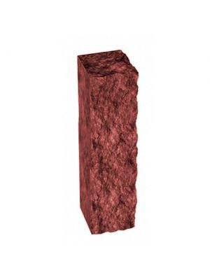 Столбик декоративный бордовый 250х100х80 Золотой Мандарин