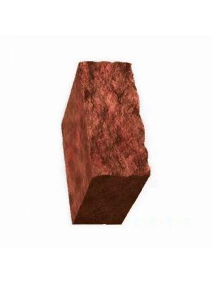 Стовпчик декоративний червоний 500х175х150 Золотий Мандарин