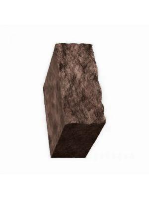 Столбик декоративный коричневый 500х175х150 Золотой Мандарин