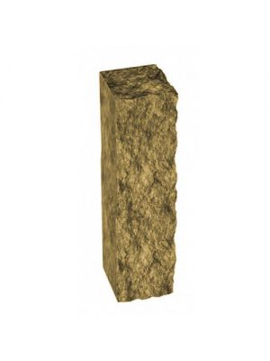 Стовпчик декоративний гірчичний 250х100х80 Золотий Мандарин