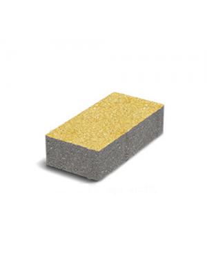 Тротуарная плитка-кирпич Танжерин (200х100х60) Золотой Мандарин