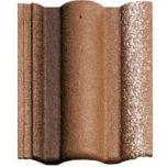 Braas, Цементно-песчаная черепица «Адрия», слари коричневая