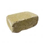 Тротуарная плитка-кирпич Антик (240х160х90) Золотой Мандарин