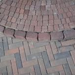 Тротуарная плитка-кирпич (210x70x60) Золотой Мандарин