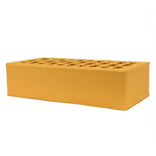 Клинкерный кирпич Евротон Корсика (желтый)